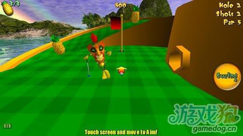 体育游戏:提基高尔夫2 去收获你的宝贝2