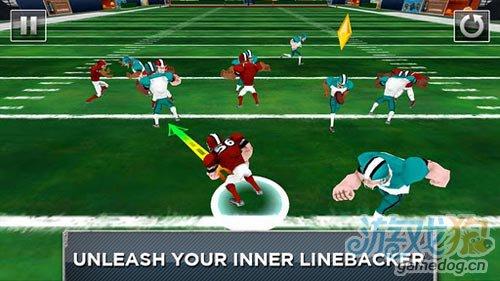 充满激情的运动游戏:钢铁后卫 防守对手疯狂进攻3
