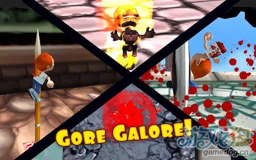 搞笑刺激跑酷游戏:狂奔的弗雷德 评测2