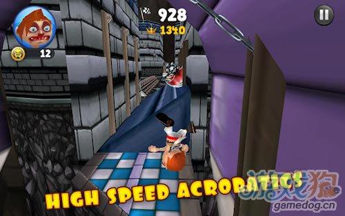 搞笑刺激跑酷游戏:狂奔的弗雷德 评测1