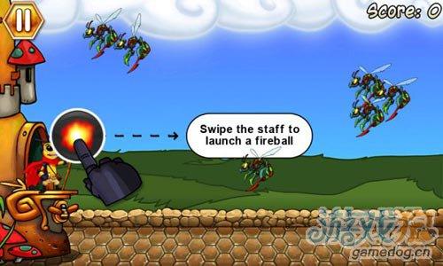 塔防游戏:黄蜂防御 用你的法术来保卫你的蜂巢吧2