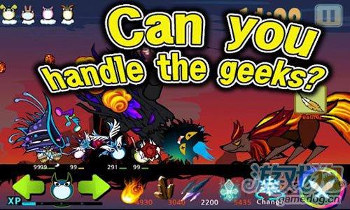 可爱冒险游戏:怪才怪物 来与伙伴们一起消灭巨龙5