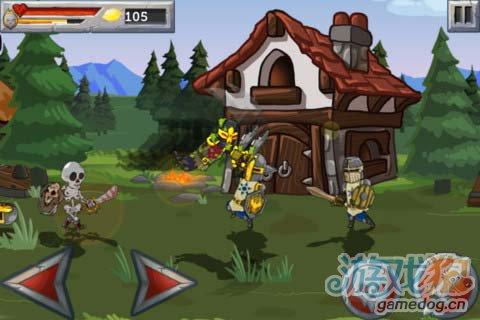 策略游戏:怪兽之战 打败英雄属于怪物的复仇开始2