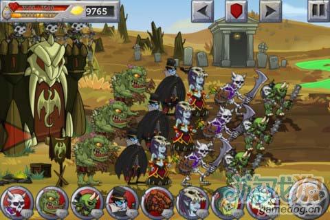 策略游戏:怪兽之战 打败英雄属于怪物的复仇开始3