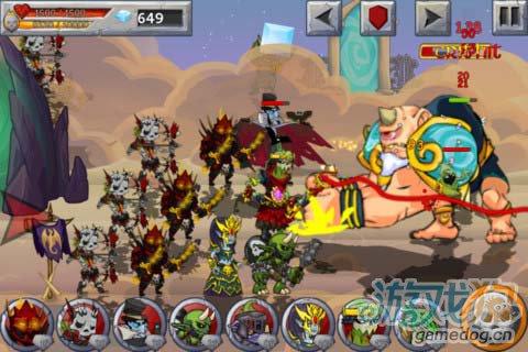 策略游戏:怪兽之战 打败英雄属于怪物的复仇开始1