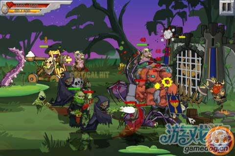 策略游戏:怪兽之战 打败英雄属于怪物的复仇开始5