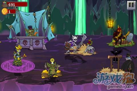 策略游戏:怪兽之战 打败英雄属于怪物的复仇开始4