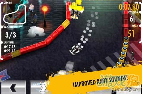 竞速游戏:红牛卡丁车赛 挑战更快速度3