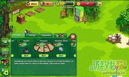 画面清新休闲游戏:迷失猴子岛 来帮助小猴子回家1