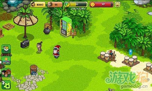 画面清新休闲游戏:迷失猴子岛 来帮助小猴子回家3