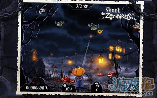 趣味射击游戏:大战僵尸鸟 带给你超越前作的感觉2