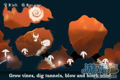 冒险闯关游戏:树叶精灵 给你风的感觉3