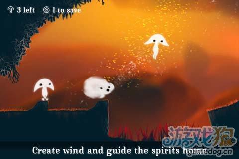 冒险闯关游戏:树叶精灵 给你风的感觉2