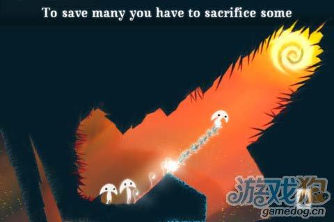 冒险闯关游戏:树叶精灵 给你风的感觉5
