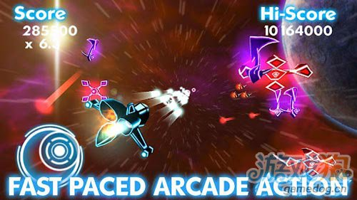 快节奏射击游戏:太空堡垒之地球保卫战 保卫星球2