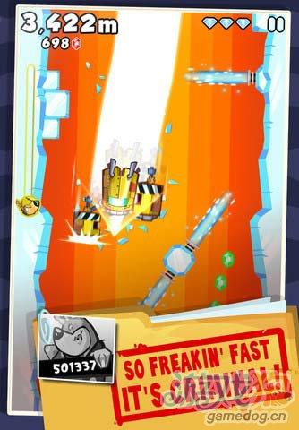 内敛型动作游戏:超级逃脱 加速吧逃脱狱警的追捕5