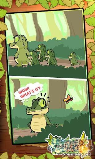 休闲益智游戏:我要吃果果 帮小鳄鱼迪欧吃到水果4