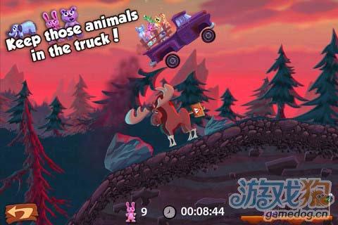 休闲游戏:小熊卡车 富有挑战性有趣游戏1