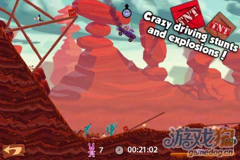 休闲游戏:小熊卡车 富有挑战性有趣游戏3