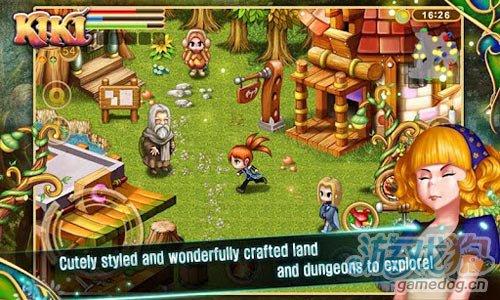 动作游戏:驯灵师琪琪 帮琪琪寻找父母3