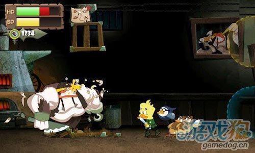 风格独特动作游戏:鸟尼拔 去战胜个性十足的敌人2