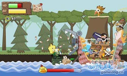 风格独特动作游戏:鸟尼拔 去战胜个性十足的敌人3