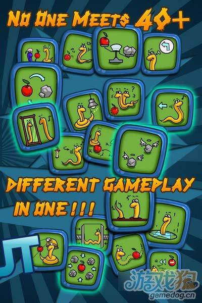 漫画风格的游戏 贪吃蛇 40+ Snakes近期发布2