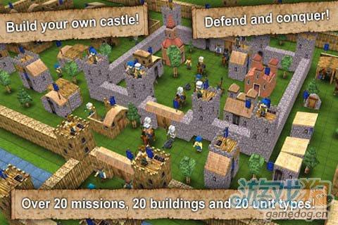 守护属于您的荣耀:战斗与城堡 击退所有的入侵者1