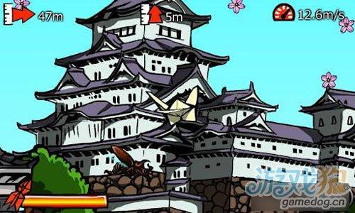 安卓版新游戏:成为纸鹤飞过天际 滑翔纸鹤2