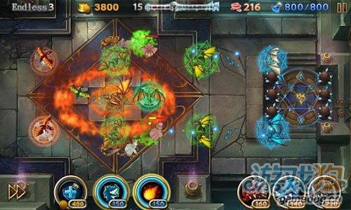 策略游戏:龙穴守护者圣地 防守来犯敌人保护龙蛋3