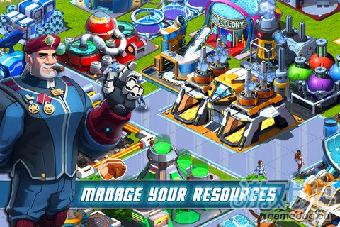 模拟经营游戏:宇宙殖民地 经营你的太空殖民地吧2