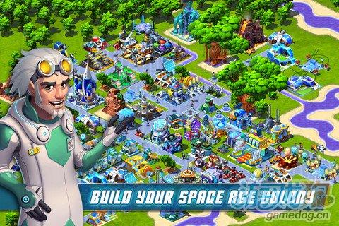 模拟经营游戏:宇宙殖民地 经营你的太空殖民地吧1
