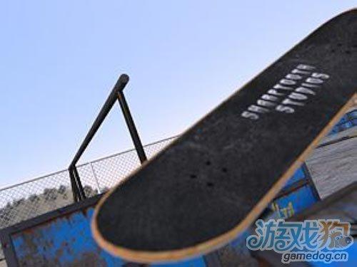 虚拟的滑板游戏 Skate King 正在紧张制作中2