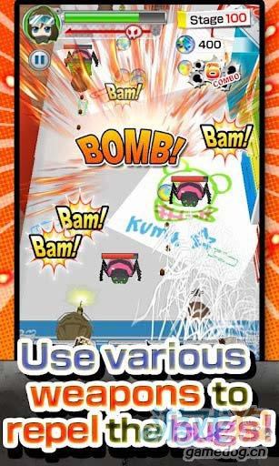 安卓3D射击动作小游戏推荐:公仔大战虫虫2