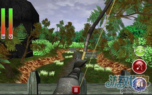 画面优秀的射击游戏:3D弓箭手 消灭来犯的敌人吧3