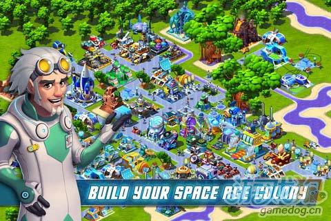 Gameloft新作:宇宙殖民地 登录安卓平台1