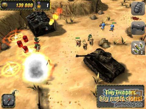 iOS策略射击游戏:小小部队 v1.2版更新2