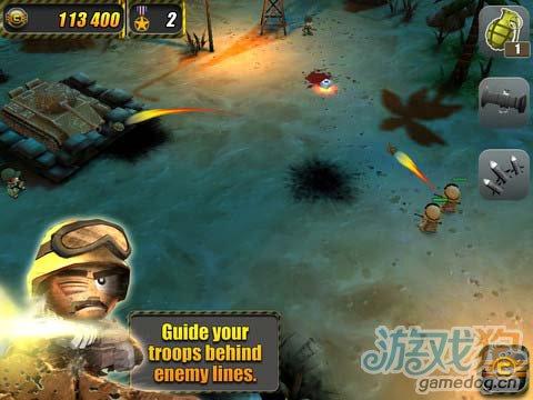iOS策略射击游戏:小小部队 v1.2版更新3