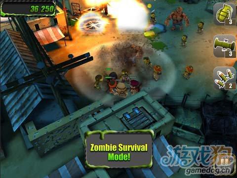 iOS策略射击游戏:小小部队 v1.2版更新1
