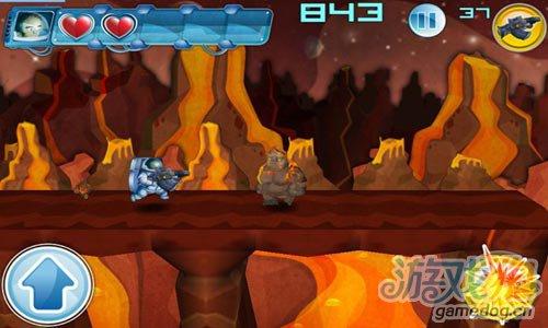 横版动作游戏:火拼外星人 去征服被外星人的星球3
