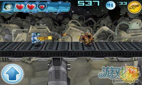 横版动作游戏:火拼外星人 去征服被外星人的星球5