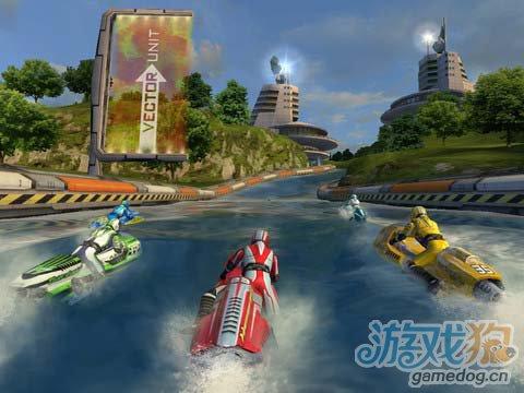 水上赛道激情竞速游戏:激流摩托艇 评测3