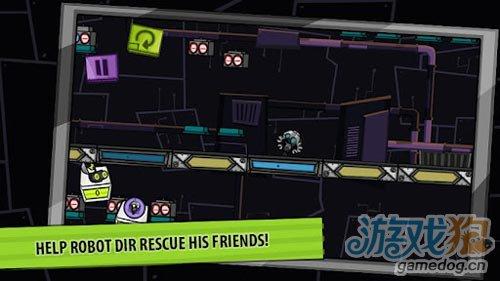 横版过关游戏:机器人DIR 来帮助可爱的DIR机器人1