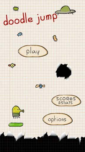 休闲游戏:涂鸦跳跃 享受弹簧上的旅程1
