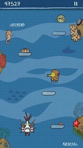 休闲游戏:涂鸦跳跃 享受弹簧上的旅程3