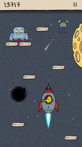 休闲游戏:涂鸦跳跃 享受弹簧上的旅程2