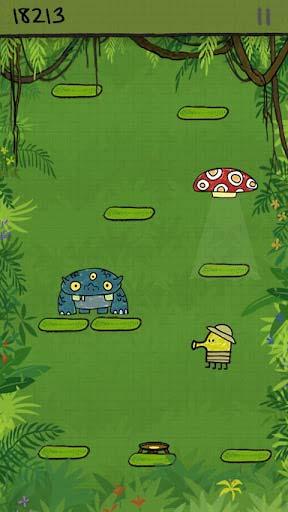 休闲游戏:涂鸦跳跃 享受弹簧上的旅程4