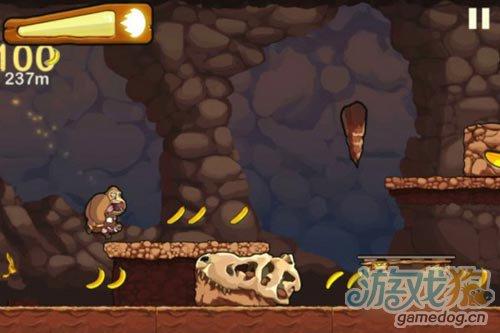 横版跑酷类小游戏Banana Kong 为了香蕉狂奔3