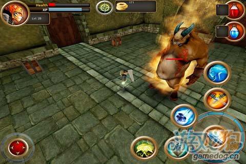 传奇老虎的英雄征途:武士剑虎 用你的剑消灭敌人1