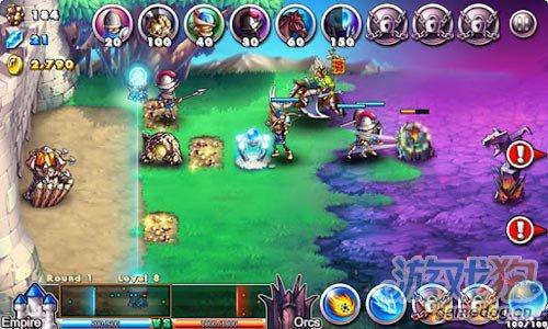 策略游戏:帝国VS兽人 感受战争凝重感1